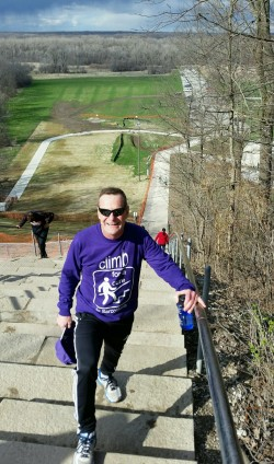 Mark Landiak on his Climb For A Cure to Sarcoidosis
